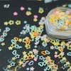1 Box 2g Glitter Paillette Nail Sequins Candy Color Star Heart Manicure Nail Art Decoration