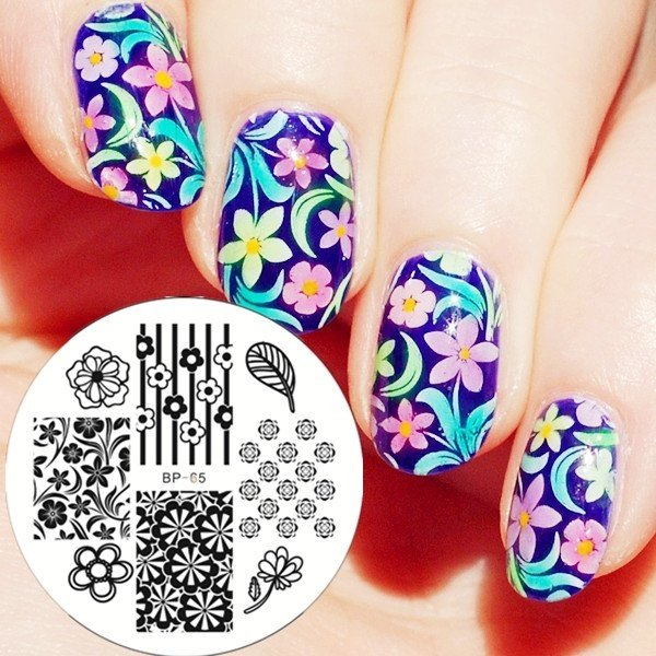 Nail Art Stamp BORN PRETTY BP65