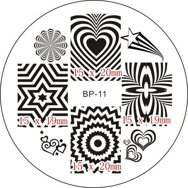 Nail Art Stamp BORN PRETTY BP11 - comprar online