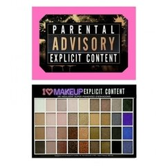 I Heart makeup – Parental Advisory Explicit Content