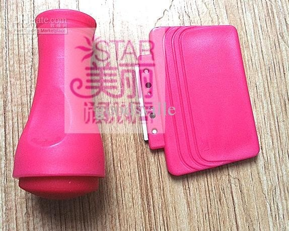 Nail Art Red Stamp Stamper