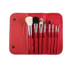 Morphe Brushes - SET 700 - 8 PIECE CANDY APPLE RED SET