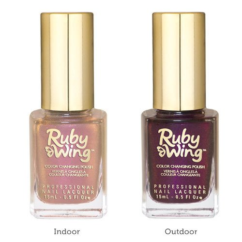NEW Ruby Wing Change Color Polish en internet