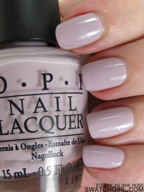OPI Nail Lacquer Steady as She Rose HARD TO FINE