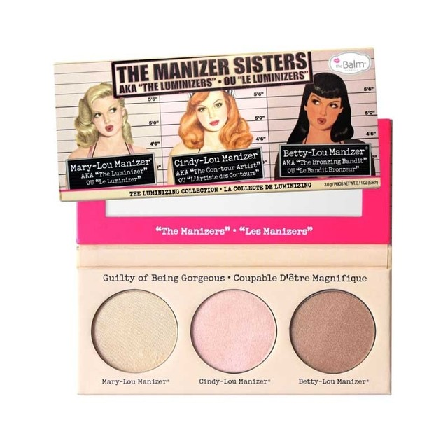 theBalm The Manizer Sisters Aka The Luminizers