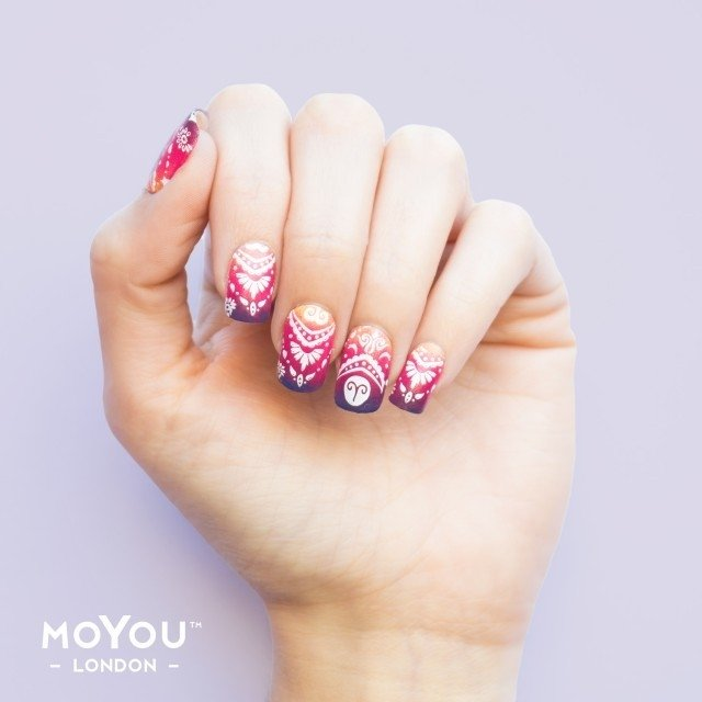 MoYou-London Stamping Nail Art Zodiac plate collection 03 en internet