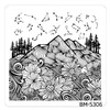 Bundle Monster Nail Art Stamping Plates- BM-S306