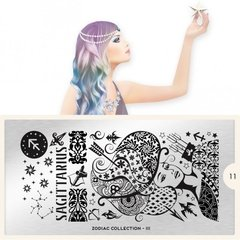 MoYou-London Stamping Nail Art Zodiac plate collection 11