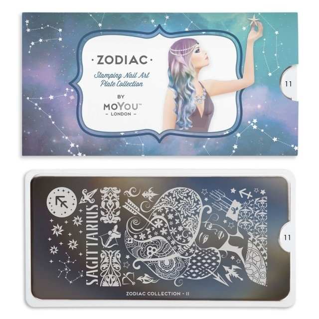MoYou-London Stamping Nail Art Zodiac plate collection 11 - comprar online