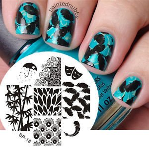 Nail Art Stamp BORN PRETTY BP18