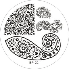 Nail Art Stamp BORN PRETTY BP22