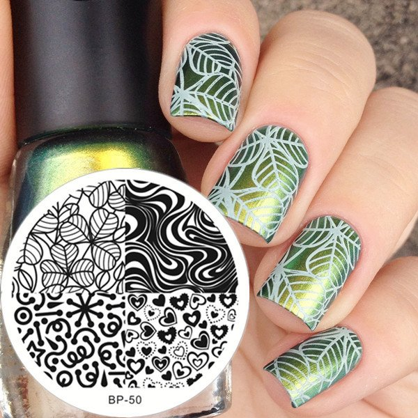 Nail Art Stamping  BORN PRETTY BP50