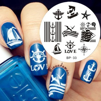 Nail Art Stamp BORN PRETTY BP33
