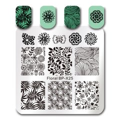 Nail Art Stamp BORN PRETTY BP-X25