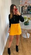 Shorts Margarida Amarelo