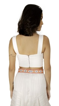 Cropped Antúrio Off White - Fullmoon
