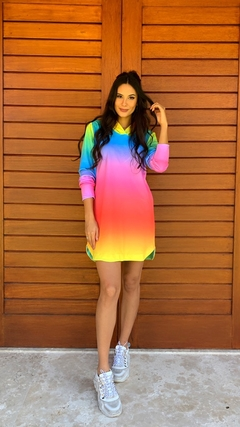 Vestido Rainbow Colors