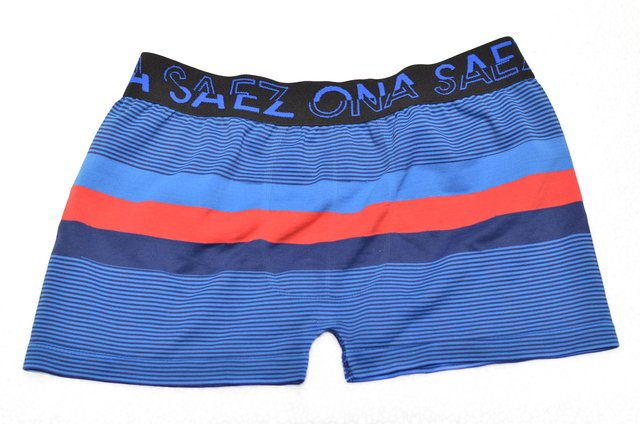 Boxer Azul Rayado Slim Fit Ona Saez -Relax Multimarcas