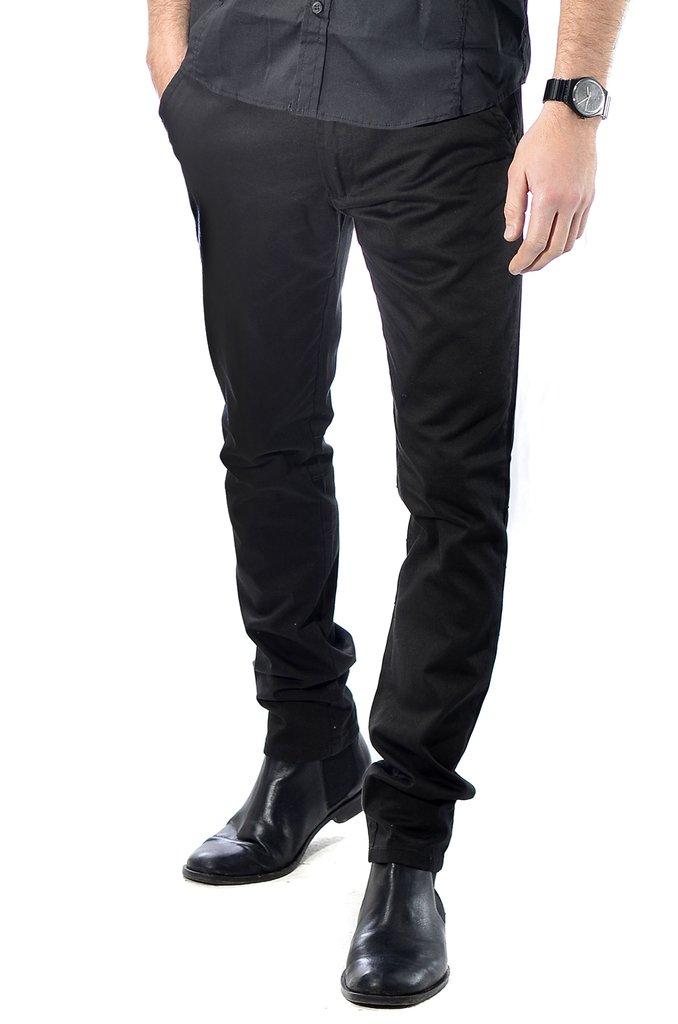 zapatos de separación e562b aa27a Pantalon Corte Chino De Vestir Chupin De Gabardina - Rx