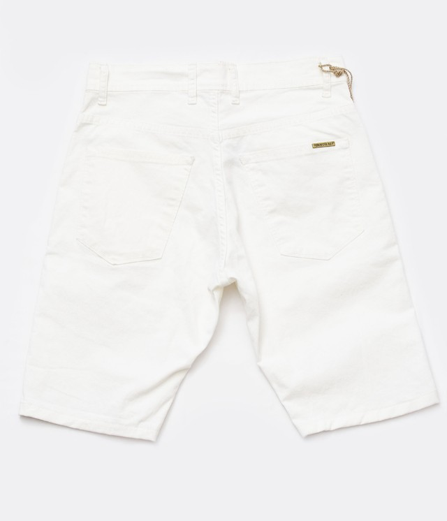 Short Blanco chupin Slim Fit - Relax Multimarcas - comprar online