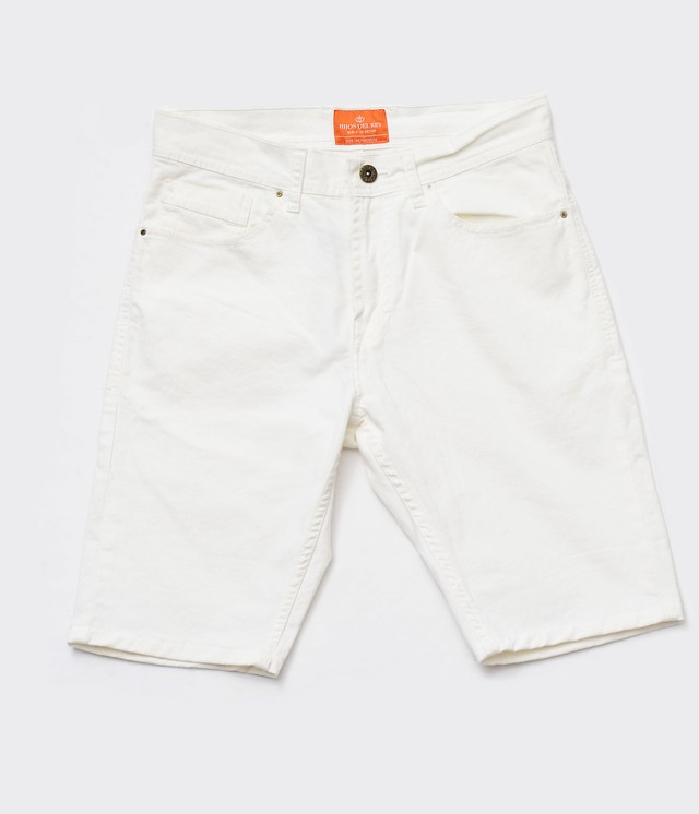 Short Blanco chupin Slim Fit - Relax Multimarcas
