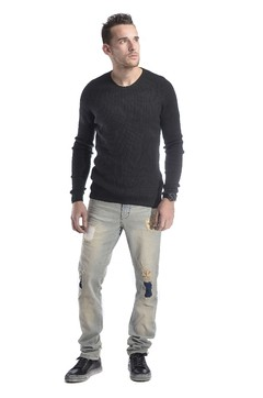 Sweater Basico al cuerpo Ultra Slim Fit - Relax Multimarcas