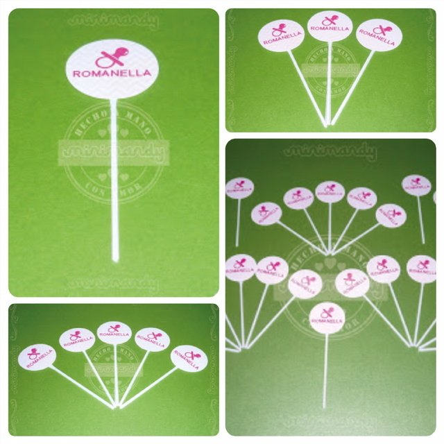 Toppers & Wrappers - Baby Shower y Nacimiento en internet