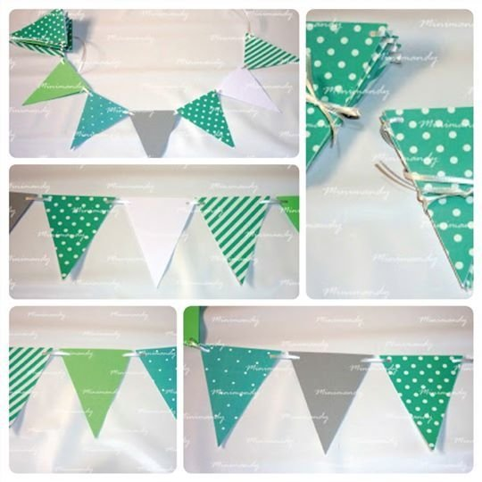 Banderines Pocket (15 unidades) - Baby Shower y Nacimiento