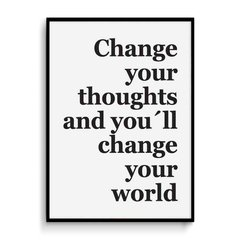 Cuadro Change Your Thoughts - comprar online
