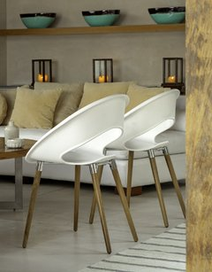 Silla One Wood - Tabureto