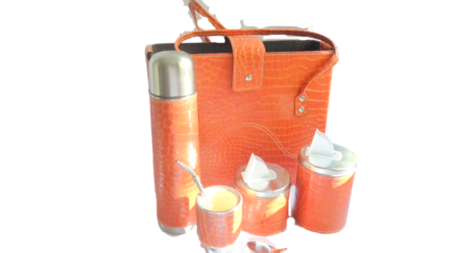 Set de mate completo Naranja - Decoring