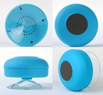 Parlante Bluetooth Recargable para la Ducha - Decoring