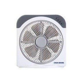 Ventilador Turbo 12'' Ken Brown KB-12N con giro - AJ - Tu confianza, nuestro capital.