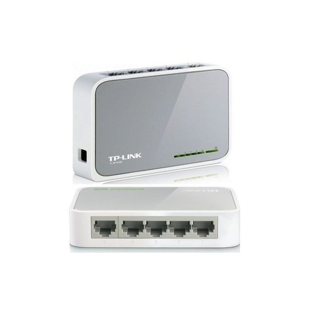 Switch 5P TP-LINK SF1005D 10/100 Mini Desktop - AJ HOGAR - Tu Confianza, Nuestro Capital