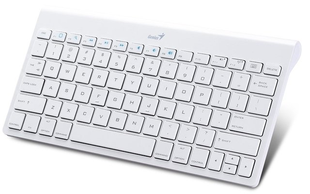 TECLADO GENIUS LUXEPAD 9000 BLUETOOTH WHITE