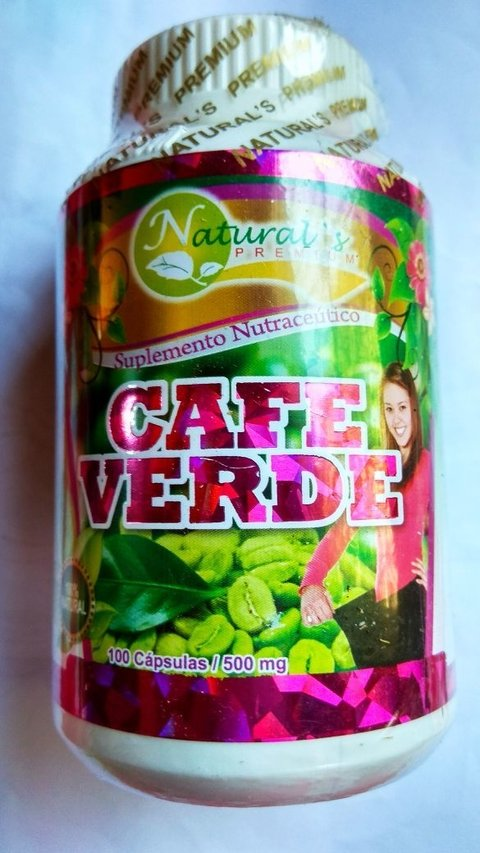 CAFE VERDE CAPSULAS 500 MG
