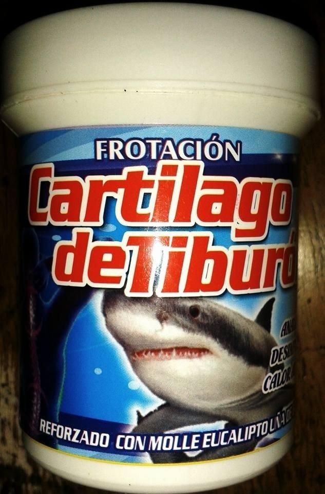 CARTILAGO DE TIBURON FROTACION 90 grs