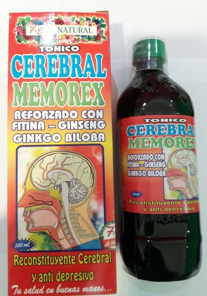 Cerebral Memorex 500 ml Extracto Natural