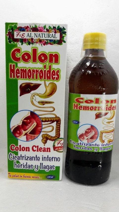 EXTRACTO COLON HEMORROIDES 500 ML