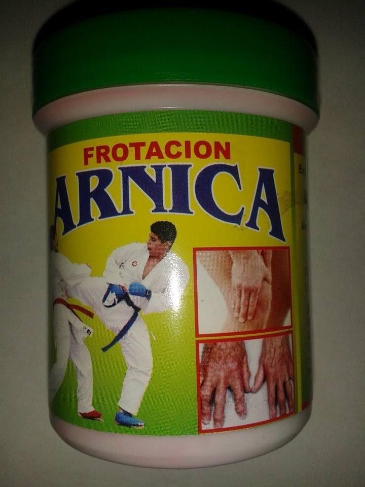 FROTACION CON ARNICA  90 grs