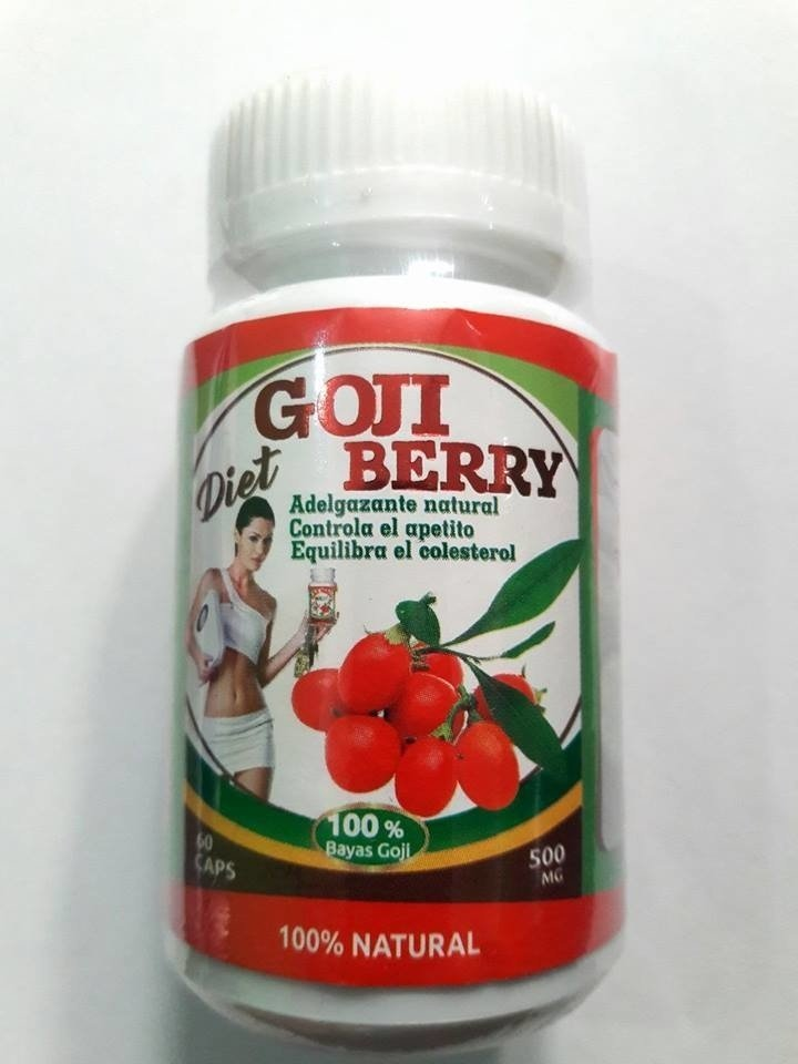 GOJI BERRY DIET 60 CAPSULAS 500MG