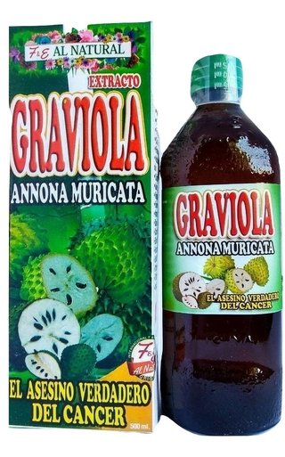 GRAVIOLA EXTRACTO NATURAL 500 ML