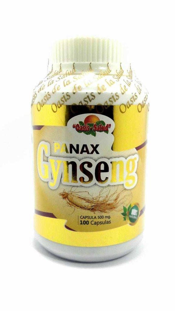 GYNSENG PANAX 100 CAPSULAS