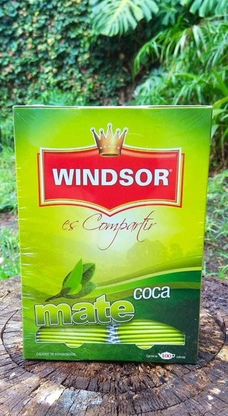 MATE DE COCA WINDSOR 100 SOBRES