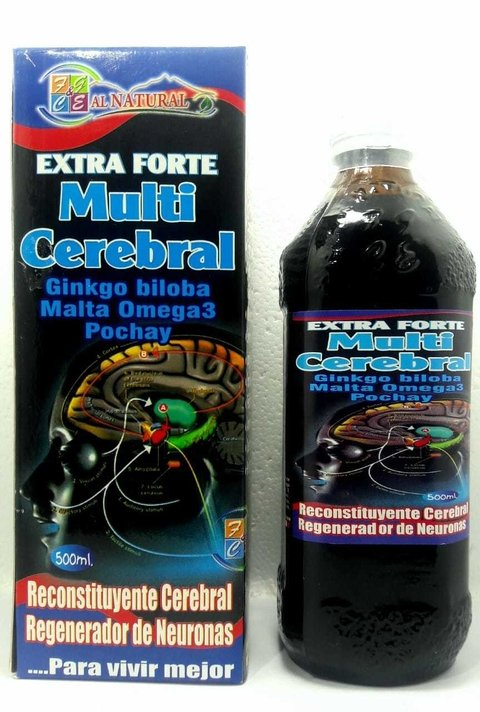 MULTI CEREBRAL EXTRA FORTE 500 ml