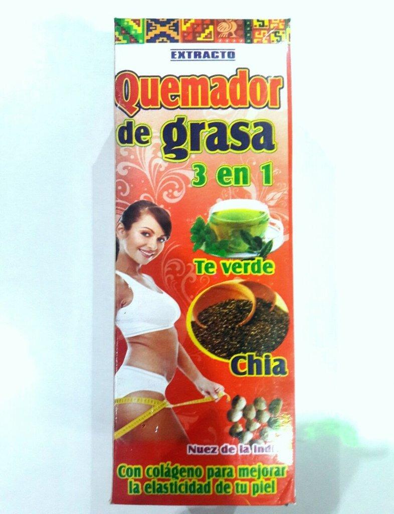 QUEMADOR DE GRASA 3 EN 1 EXTRACTO