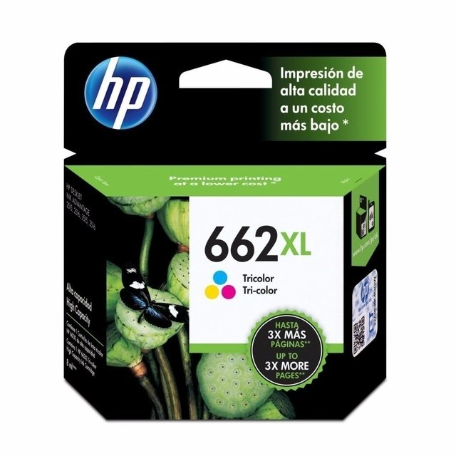 Cartucho Hp 662 Color Xl Cz106al Original Caja
