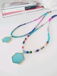 Collar jade arcoiris
