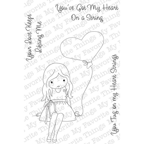Sello Haert On A String My Favorite Things Clear Stamps - comprar online