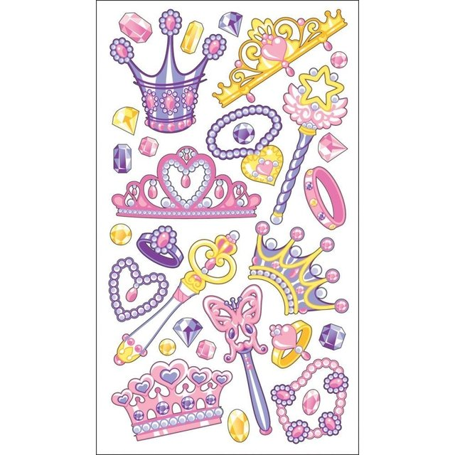 Stickers Tridimensionales Her Majesty Sticko